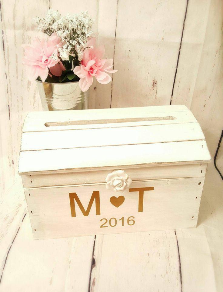 Wedding card box,card box,Gift card box, rustic wedding decor by LaceysLace on Etsy