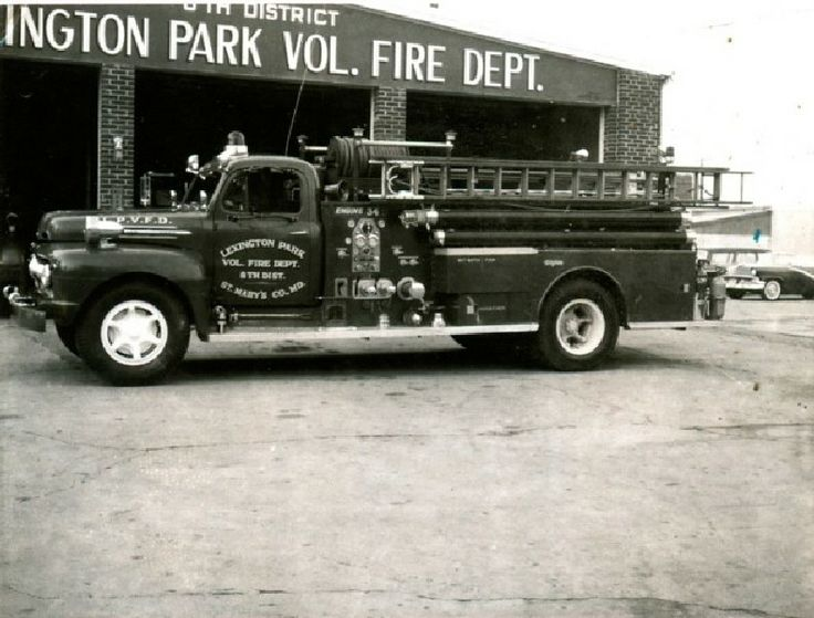 Bay District Volunteer Fire Department, California, MD - Engine 34