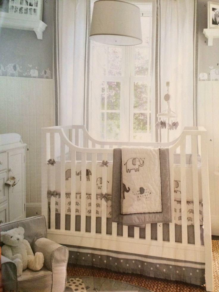 Pottery Barn Toronto Baby Room Themes Elephant Nursery