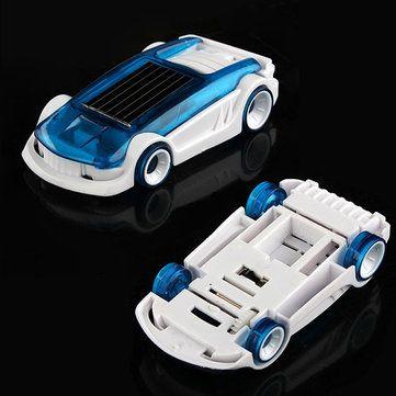New Solar Salt Water Hybrid Car Solar Power Toy for Children Education toys Gift - US$4.45