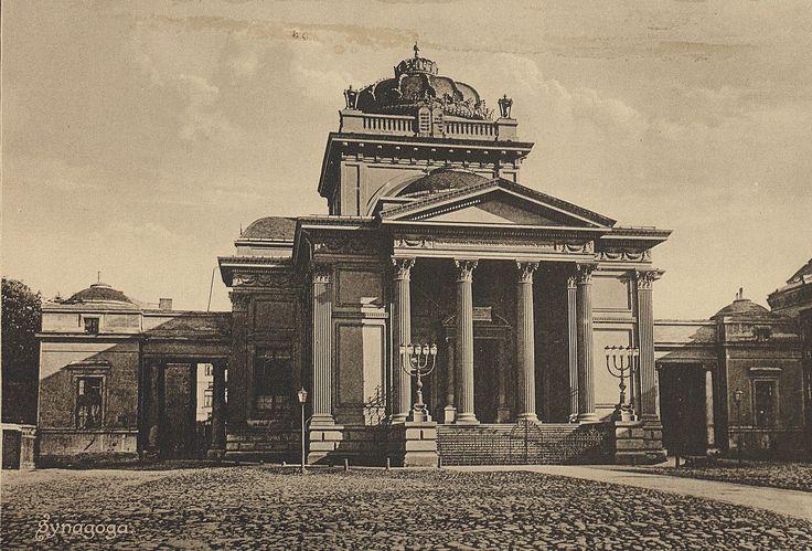 Warszawa przedwojenna (Synagoga)