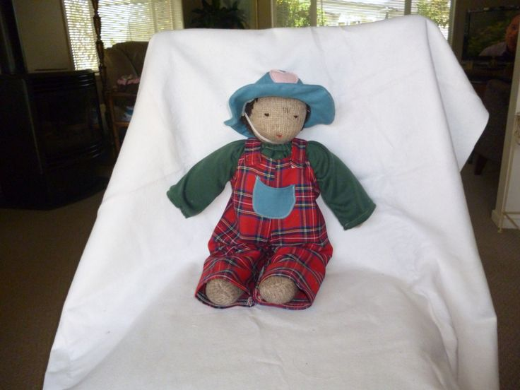 One of the dolls I re-dressed.