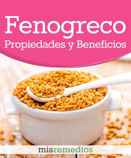 #Fenogreco - Propiedades y Beneficios #PlantasMedicinales