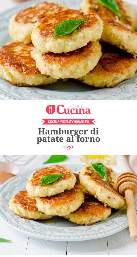 #Hamburger di #patate al forno