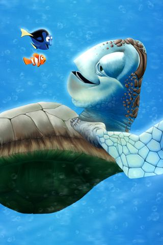 Finding Nemo iPhone Wallpaper HD. You can download this free iPhone Wallpaper…