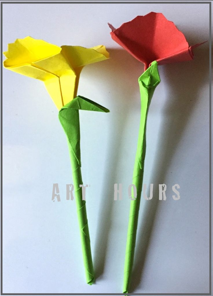 Tutorial for origami carnation flower, Origami carnation flower picture instructions #origamiflower #paperflowers #origamicarnation