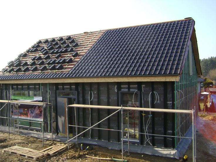 Realizacja domu pasywnego. Źródło: http://domy.procyon.com.pl/