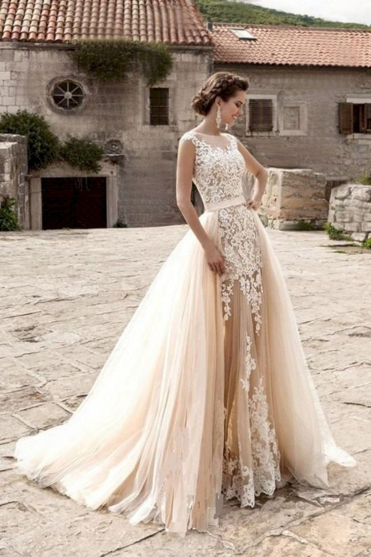 Pin by Diana Dela-Cruz on Wedding Dresses  Lace bridal gown