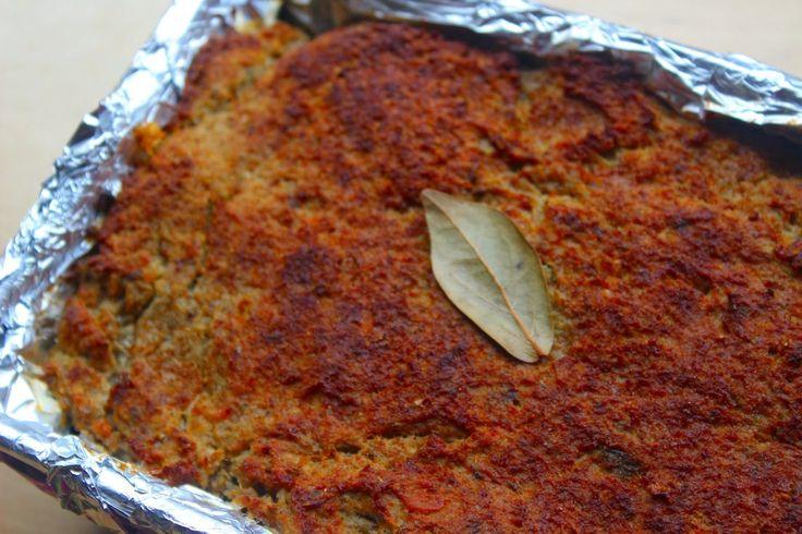 Kulinarne fantazje Marioli: PASZTET  Z   KURCZAKA   I   WĄTRÓBKI