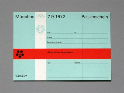 Munich 72 Olympics. Designed by Otl Aicher. Still one of the best graphic design jobs ever.