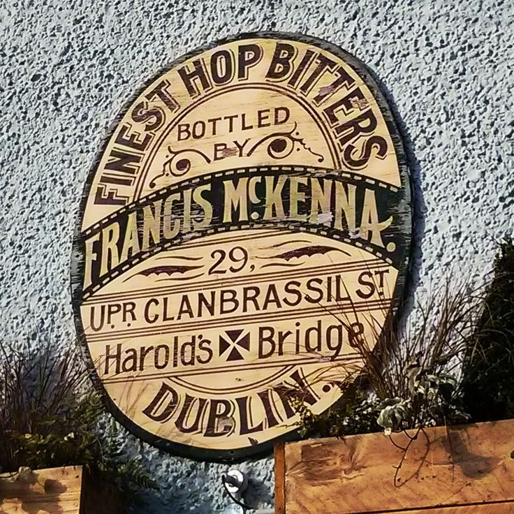 Francis McKenna. #Dublin #DublinGhostSigns