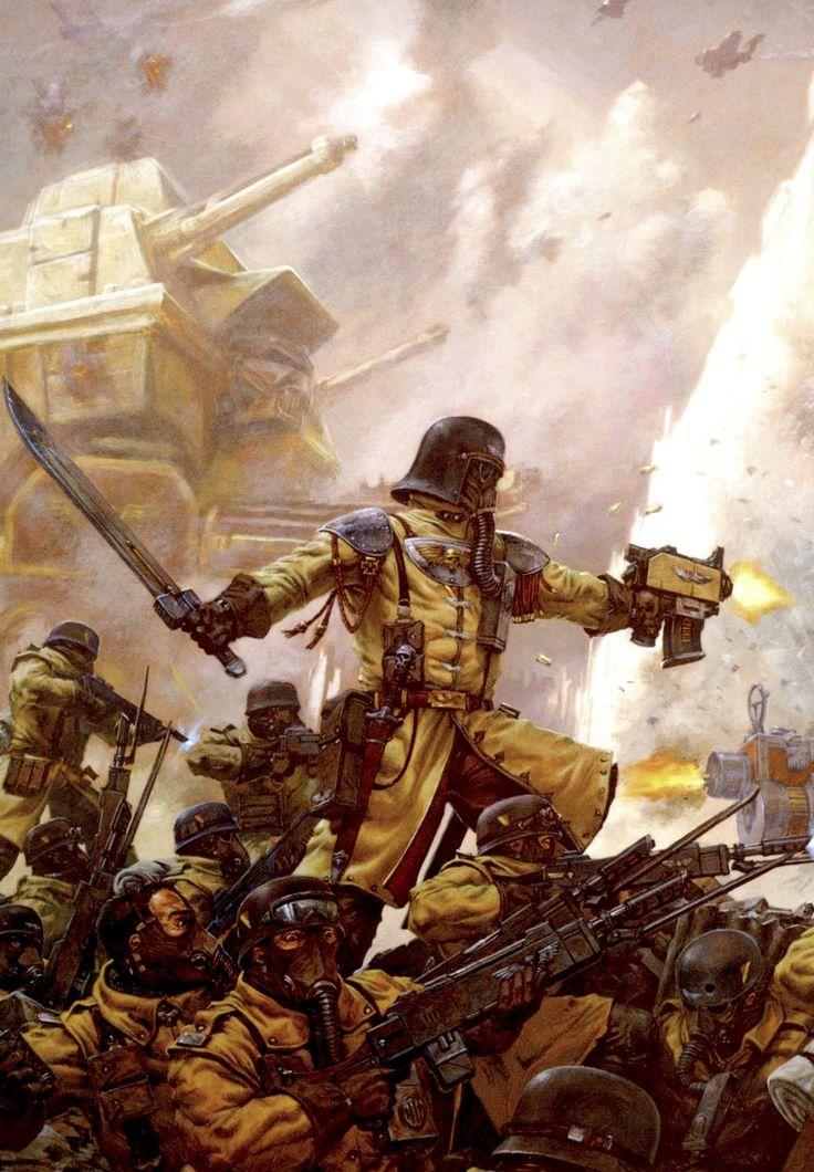 "bulletride-actionwear: ""Armageddon Steel Legion - Warhammer 40k """