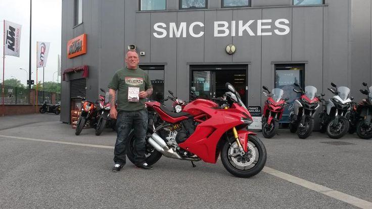Alan with his new #Ducati #Supersport thanks Alan  SMC bikes.com 01142525454 http://ift.tt/2qYJvZN