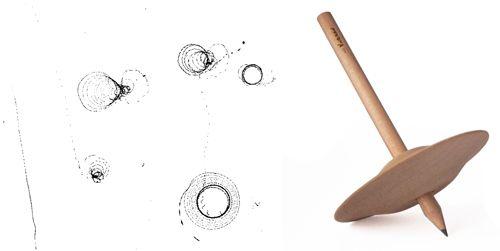 © Viarco & Miguel Soeiro, Spinning Top Pencil