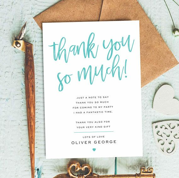 Stylish Thank You Cards Chic Thank You Cards Pack Customised