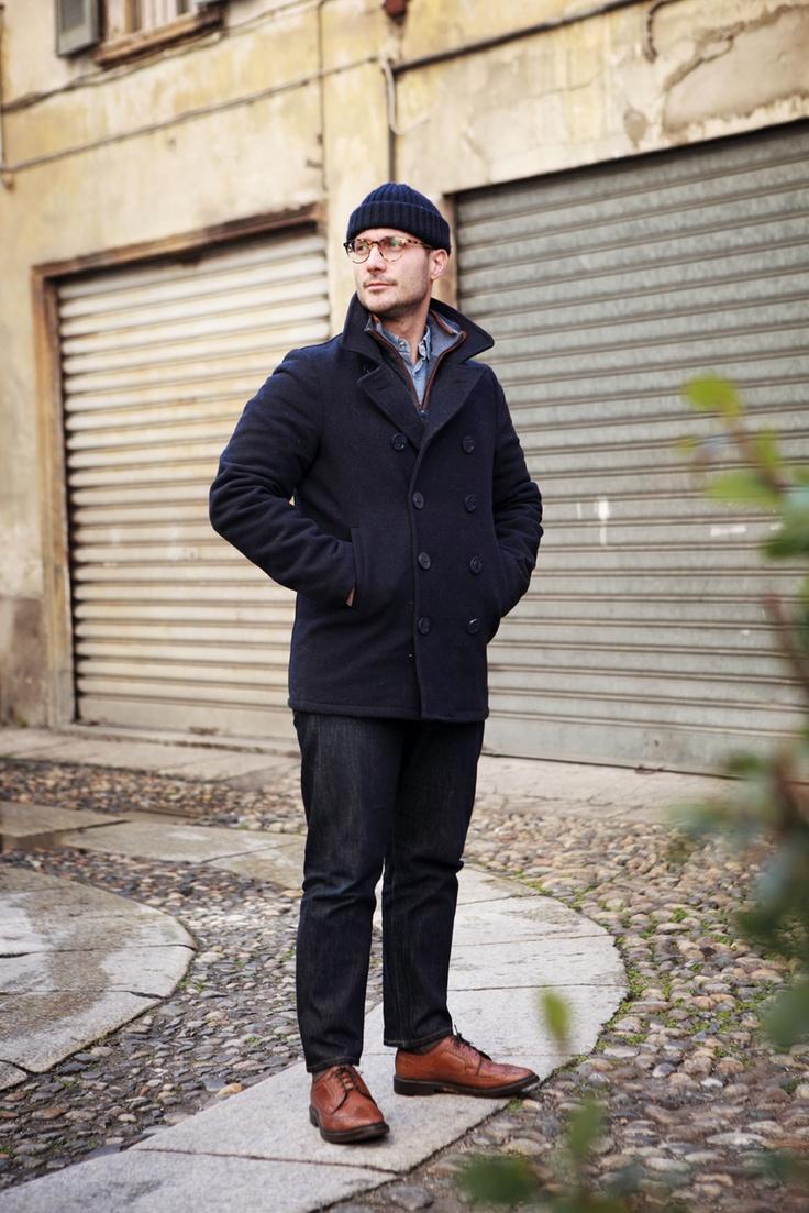 Nicolo' Pivoli, @ Society Milano/ courtyard seen on La Repubblica - R Club Album / Lo stile indipendente - di Roberto Ciminaghi, ph Mattia Zoppellaro