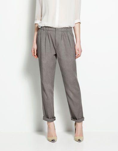 trousers // zara.