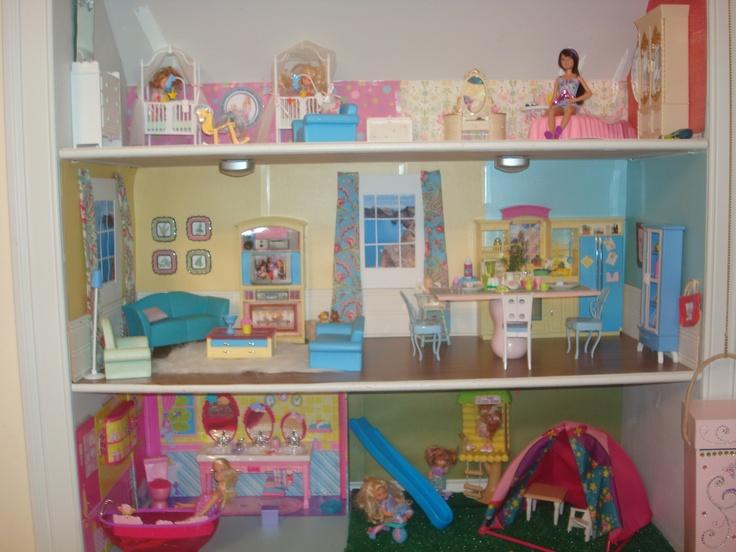 Barbie Bookcase Webfaceconsult