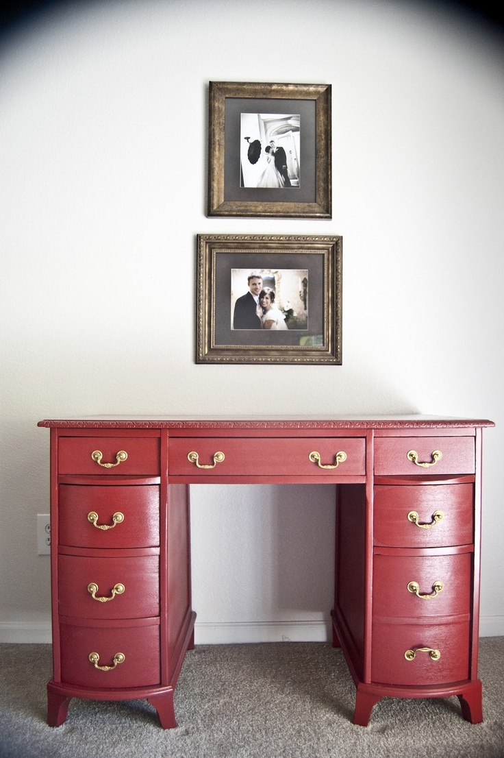 Red Distressed Bedroom Furniture