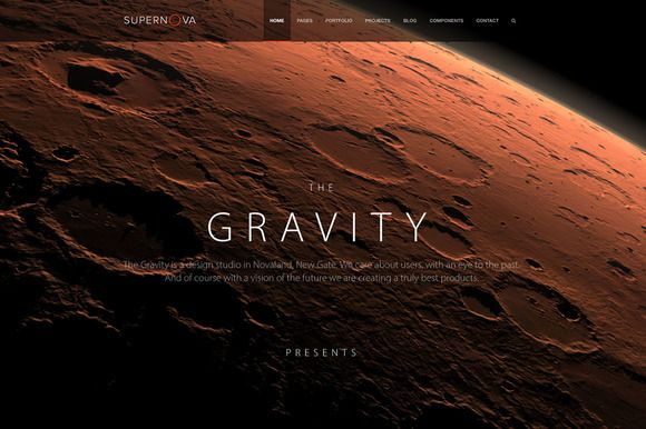 Check out Supernova - Multi-Purpose Theme by TheGravity Themes on Creative Market