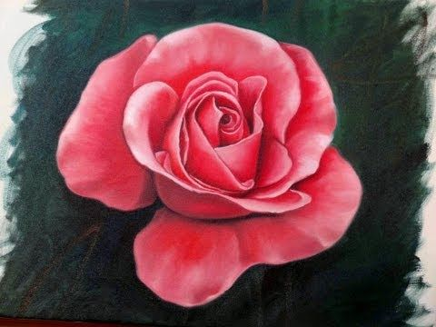 How to Draw a Rose Step by Step Flower Drawing Tutorial - YouTube