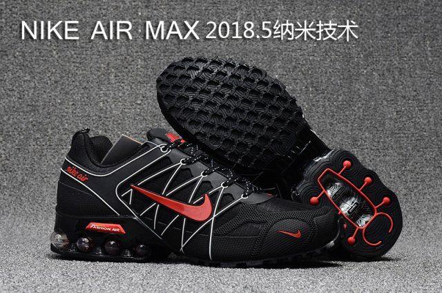 Mens Nike Air Max 2018. 5 Shox KPU Red Black White 524977