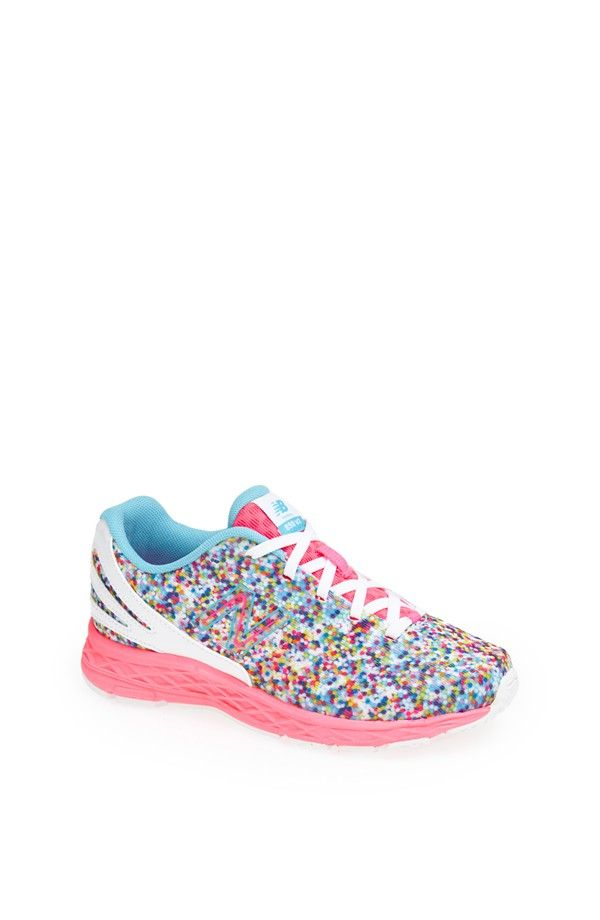 They look like sprinkles! Love these cute New Balance ice cream sneakers.