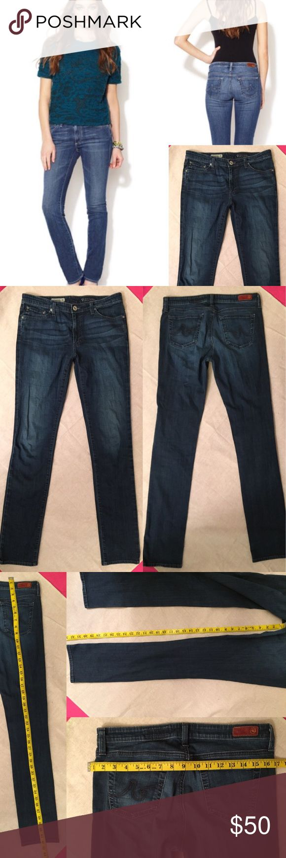 AG the premiere skinny straight Jean Size 29r. Gently worn. 🙆🏻no trades or off site transactions.Since I have a variety of sizes I do not model🙅🏻Low ball offers are not accepted. Please accept that I offer the lowest price I'm willing to offer at that point😁I have an illness that sometimes requires serious medical attention & 2 little ones 👶🏼👶🏻 so if I don't respond I'm either very ill that day 🚑 or have been kidnapped by my kids.Thank you for shopping my closet! 💋 Ag Adriano…
