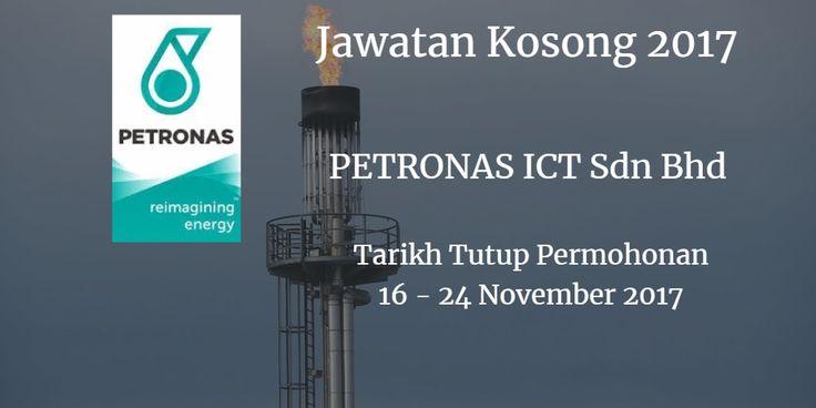 Jawatan Kosong PETRONAS ICT Sdn Bhd 16 - 24 November 2017  PETRONAS ICT Sdn Bhd calon yang sesuai untuk mengisi kekosongan jawatan PETRONAS ICT Sdn Bhdterkini 2017.  Jawatan Kosong PETRONAS ICT Sdn Bhd 16 - 24 November 2017  Warganegara Malaysia yang berminat bekerja di PETRONAS ICT Sdn Bhd dan berkelayakan dipelawa untuk memohon sekarang juga. Jawatan Kosong PETRONAS ICT Sdn Bhd Terkini 13 November 2017: 1. Open Text BPM Solution Architect 2. Open Text ECM Solution Architect 3. Senior Open…