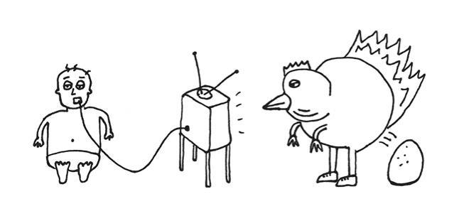 drawing, cartoon, sharpie