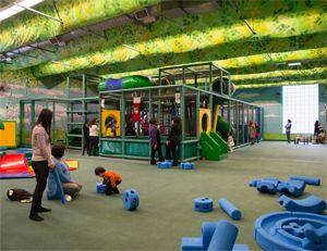 Children playing at Playground Paradise