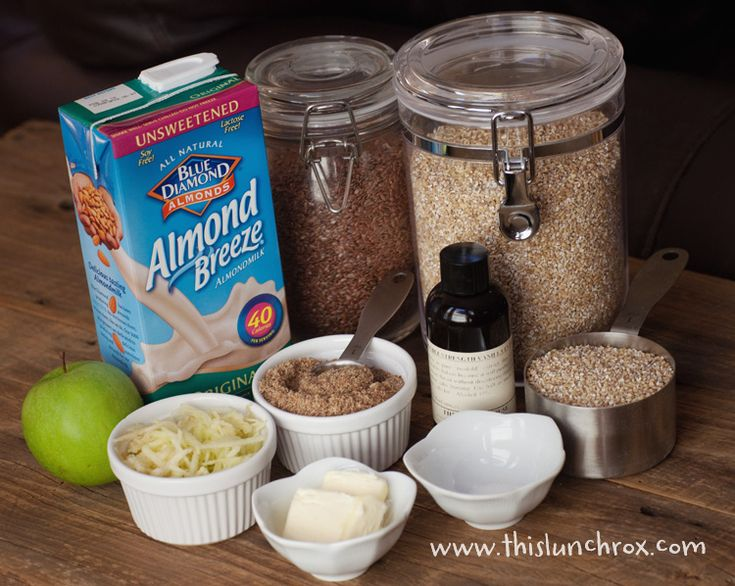 breakfast idea:) Using a crockpot . . . I would add another cup of liquid and mix all ingredients before adding to crock pot. ( i had a hard layer of cinnamon on top)