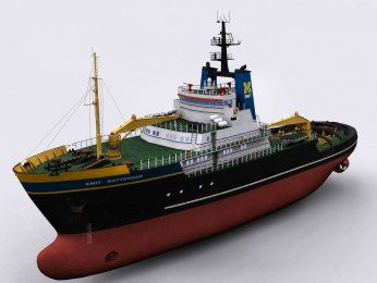 Smit Rotterdam R/C Boat