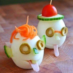 {Fun Food} avec des oeufs... cuisine créative pour enfants