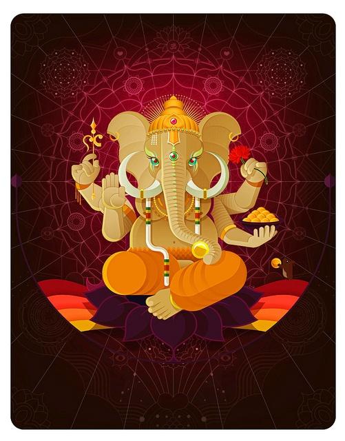 Ganesha | Animal Gods www.juancasini.com
