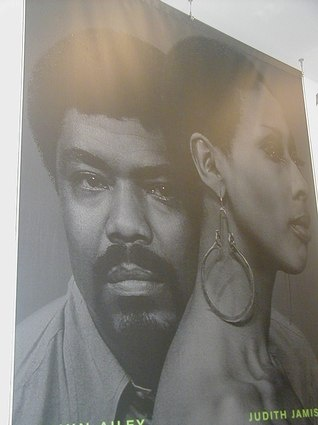 Alvin Ailey and Judith Jamison Poster