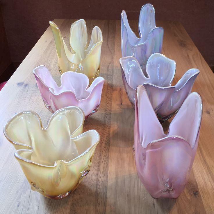 Iwatsu Hineri Japanese Art Glass