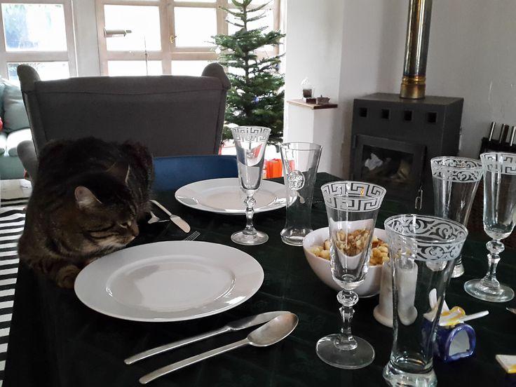 On the table - Christmas 2015