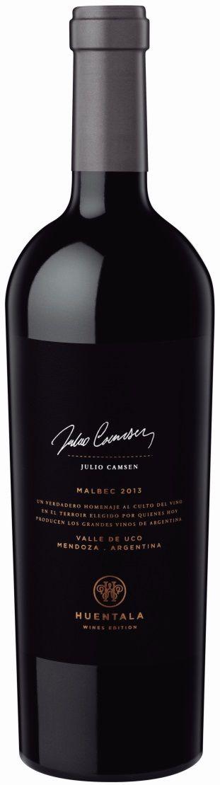 """""""Huentala Wines Edition, Julio Camsen"""" Malbec 2013 - Huentala Wines, Tupungato, Mendoza----------Terroir: Gualtallary (Tupungato)-----------Crianza: 12 meses en barricas nuevas de roble francés."""