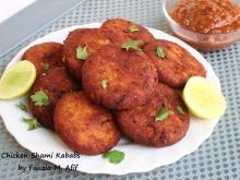 Chicken Shami Kababs   Fauzia's Kitchen Fun