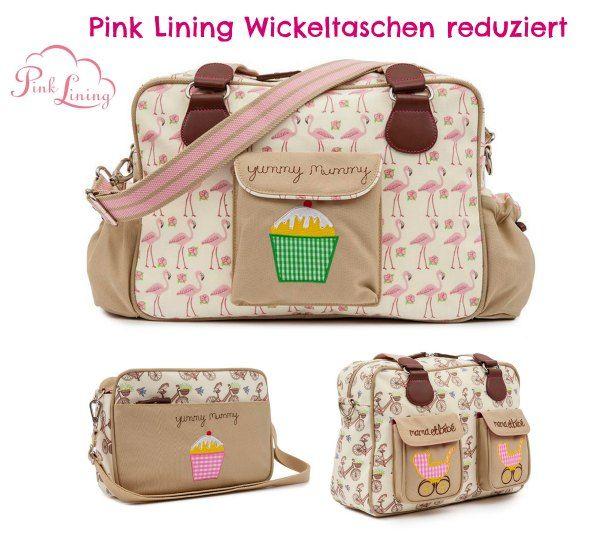 Süße Wickeltasche von Pink Lining #sparbaby