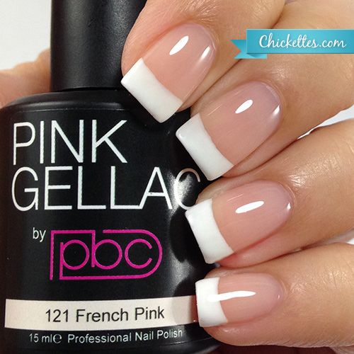 #121 Pink Gellac French Pink :: Gel Colors :: Chickettes Boutique