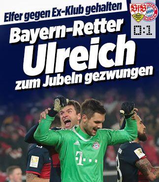 Bayern-Retter Ulreich zum Jubeln gezwungen