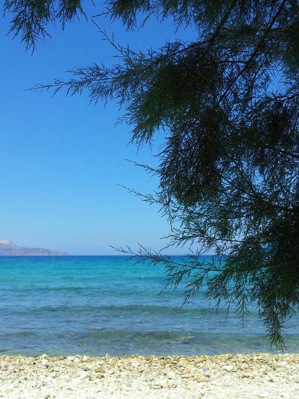 So blue, Almerida, Crete