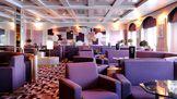 Smoking lounge on the MSC Opera