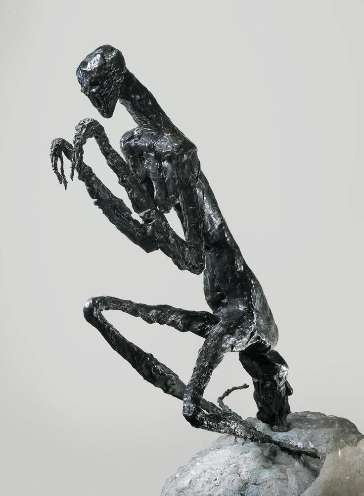 Germaine Richier (1904-1959)  The Mantis (La Mante), 1946  Base by Eugène Dodeigne Bronze  158 x 56 x 78 cm  Courtesy Galerie Jacques de la Béraudière, Geneva   © Galerie Jacques de la Béraudière, Genève  © VEGAP, Bilbao, 2013