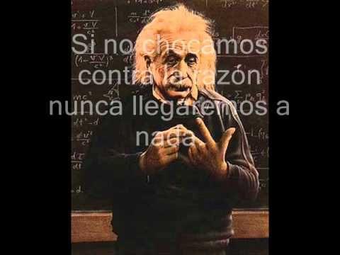 Video sobre frases célebres, en español, de ALBERT EINSTEIN, en dos minutos y medio