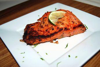 Oven Roasted Sockeye Salmon
