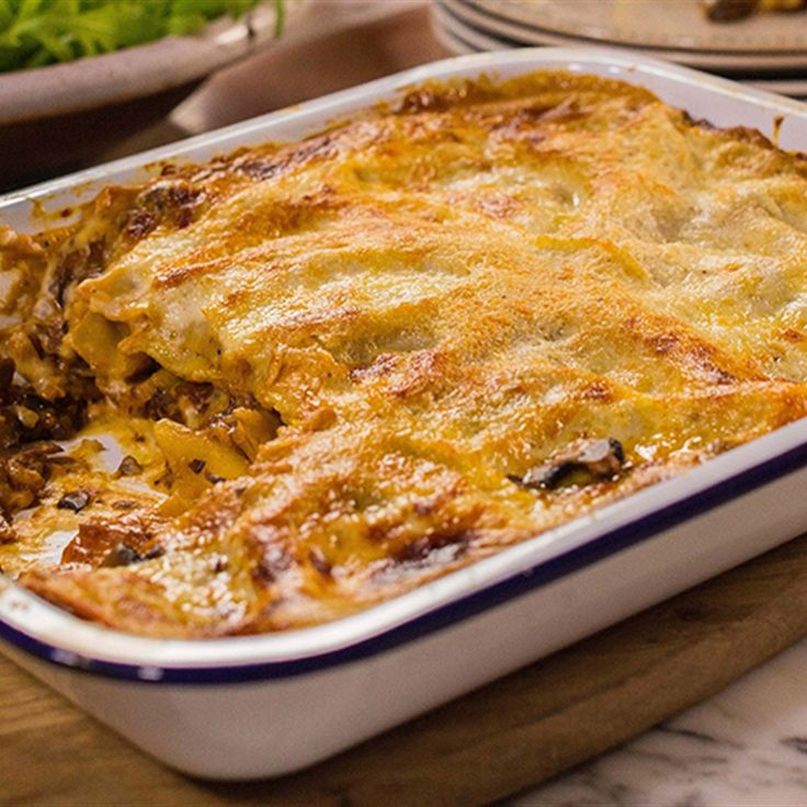 Try this Lasagna with Sugo Funghi recipe by Chef Michela Chiappa . This recipe is from the show Michela's Tuscan Kitchen.