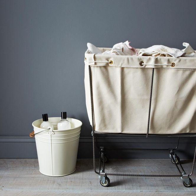 Elevated Laundry Basket Canvas Laundry Hamper Laundry Hamper